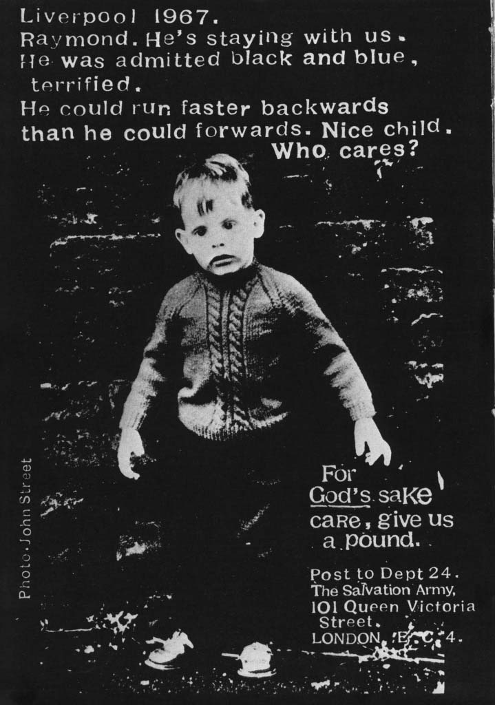 NLP in Advertising--Salvation Army Poster
