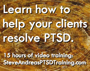 The PTSD Training banner
